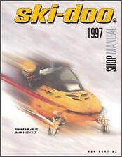 1997 Ski-Doo Formula III / LT - Mach 1 / Z / Z LT Snowmobile Service Manual CD