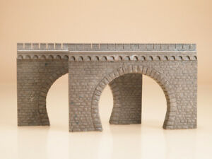 Auhagen kit 41587 NEW HO 2 DOUBLE TRACK TUNNEL PORTALS