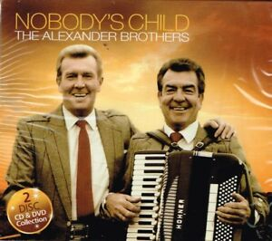 "THE ALEXANDER BROTHERS Brand New CD & DVD Region 4 ""NOBODY'S CHILD""  Scottish"