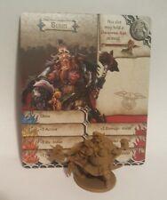 Berin - Survivor - Zombicide Green Horde - COMBINE SHIPPING -Miniature & card