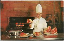 George Diamond Charcoal Broiled Steaks Restaurant in Milwaukee WI Postcard