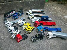 Job Lot Matchbox Convoy Trucks Kenworth Peterbilt DAF Scania Shell P&O