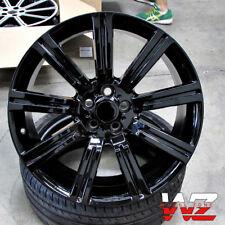 "20"" Stormer Style Gloss Black Wheels Fits Range Rover Land Rover HSE Sport LR3"