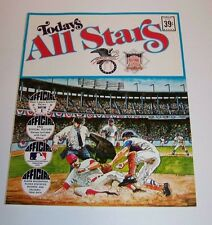 Dell Todays All Stars Stamp Book 1971 Baseball