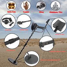 "Metal Detector 7.8"" Gold Digger Hunter Deep Sensitive Come With Shovel Earphone"
