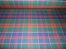 Stewart of Appin Hunting Modern Tartan Fabric 100% Pure New Wool Plaid Check
