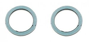 For Toyota 4Runner Camry Pickup Set of 2 Exhaust Pipe Flange Gasket Stone