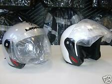 CASCO BIEFFE CITY TOUR XS M BIANCO SILVER MOTORCYCLE HELMET BIEFFE CASQUE HELM