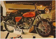 MOTO - NORTON 750 cc. COMMANDO - CARTOLINA