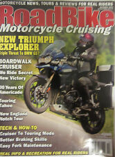 Road Bike Magazine October 2012 Triumph BMW GS Boardwalk Cruiser Touring Tahoe