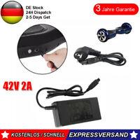 Ladegerät Netzteil 42V 2A Für Balancing Scooter Hoverboard E-Bike Adapter DE