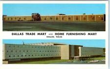 DALLAS, Texas  TX   DALLAS TRADE MART Home Furnishing Mart  c1950s  Postcard