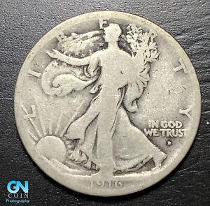 1916 D Walking Liberty Half Dollar --  MAKE US AN OFFER!  #B7539