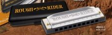 "Hohner ""ROUGH RIDER"" Diatonic Harmonica Key of C Harp in Plastic Storage Case"