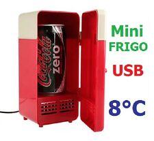 Mini réfrigérateur frigo / Réchaud USB boisson chaude ou froide. Cadeau original