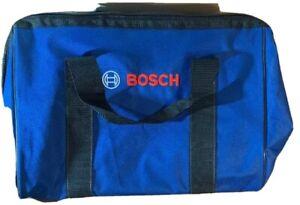 """BOSCH OEM NEW Canvas Contractor Power Tool Bag 19"""" wide by 11"""" deep by 12"""":tall"""