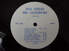 1963 Civil Service 80th Anniversary John F Kennedy John Glenn Robert Kennedy