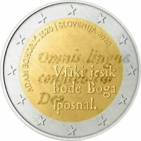 2 Euro Gedenkmünze Slowenien 2020 - Adam Bohoric