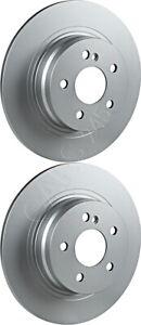 Rear Brake Disc Set Fits MERCEDES A207 C204 C207 S204 W204 W207 07-14 2044230612