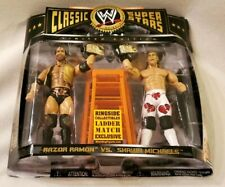 WWE Classic Superstars RAZOR RAMON SHAWN MICHAELS Ringside Ladder Match Jakks