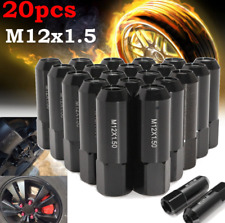 M12x1.5 60MM Whee Lug Nuts Extended Tuner Wheel Hub Nut 20PC For Ford Mustang