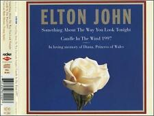 Something About the Way You Look Tonight/Candle in the Wind 1997  CD ELTON JOHN