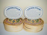 Anchor Steam Beer Drink Coasters (LOT OF 55)
