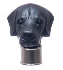 Black Labrador Head, handle, black resin for walking stick making special price