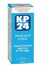 KP24 MEDICATED LOTION 100mL HEAD LICE & EGGS TREATMENT