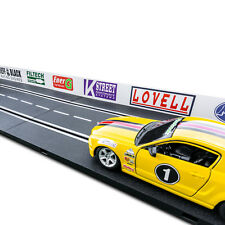 NEW 1/24 Slot Car Guard Rails Set - Sponsor FITS: Carrera, Marx