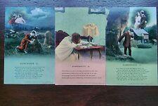BAMFORTH SONG SOMEWHERE 3 CARDS SET 4626 POSTCARDS