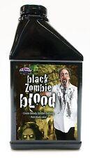 Pint Of Black Zombie Fake Blood Theatrical Halloween Costume Makeup 16 Fl Oz