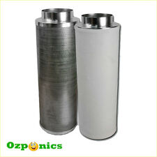 HYDROPONICS 10 INCH GROWLUSH CARBON FILTER Activated Clean Air Flow Ventilation