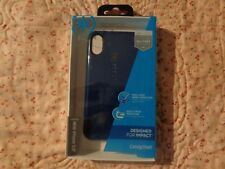 """GENUINE AUTHENTIC SPECK CANDYSHELL GRIP CASE for iPhone 5.8""""/X  Blue/Gray"""