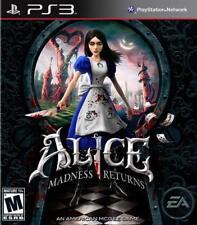 Alice : Retour au Pays de la Folie - PS3 IMPORT neuf sous blister