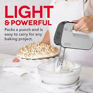 Hand Mixer Electric For Whipping Mixing Cookies Brownies Dough Cakes 3 Speed New