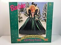 LOT of 4 : New Sealed BARBIE - 1988,89,90,91 Limited Edition 120 Pc. PUZZLES