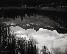 1930s/63 Vintage 16x20 MERCED RIVER Reflection Landscape Photo Art ~ ANSEL ADAMS