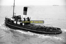 mc0348 - UK Bristol Tug - West Winch , built 1920 - photo 6x4