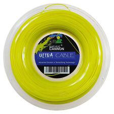 Weiss Cannon Ultra Cavo 17/1.23mm BOBINA Stringa di tennis 200m
