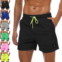 Men's Swimming Board Shorts Swim Shorts Trunks Swimwear Casual Beach Underpants