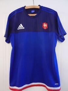 Adidas France Men National RARE Rugby Adizero Shirt Maillot de foot