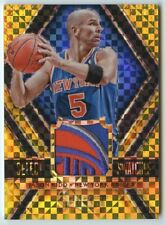 Jason Kidd 2014 15 Panini Select Swatches Gold Prizm Game-Worn Logo Patch 4/10