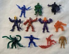 Toy Biz Handful HEROES Lot Figures MARVEL Universe 500 Mini Figures X-men Spidey