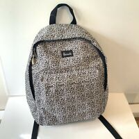 Harrods Backpack Black and White Scratchy Rucksack Unisex