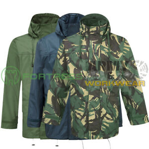 Mens Fortress Rain Jacket Windproof and Waterproof Tempest Breathable Coat Camo