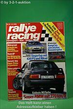 Rallye Racing 16/88 BMW M3 Turbo Chrysler GS Audi 90