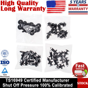 40Pcs Car Body Plastic Push Pin Rivet Fasteners Trim Moulding Clip Assortments