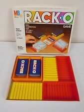 VINTAGE Milton Bradley RACK-O Card Game 1980 -  Complete No. 4765