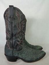 Dan Post Men's Boot Distressed Black Leather Western Cowboy Size 9.5 D